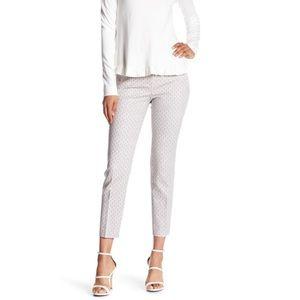 Adrianna Papell Slim Fit Print Pant